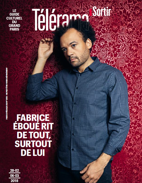 Telerama Fabrice Eboué couv