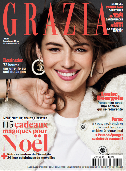 Louise Bourgoin Grazia Cover